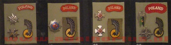 badges 1 armored division from the collection of the MWP
