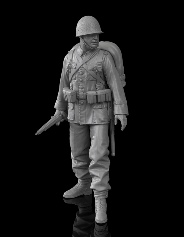Polish Infantryman 1939 120mm
